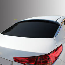 New Smoke Rear Roof Window Deflector Visor Spoiler for Kia Optima 11-13