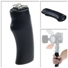 LED Flash Light Bracket Hot/Cold Shoe Mount Handle Grip for DSLR DV Camera Movie
