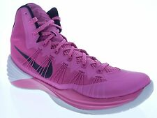 Nike Mens Hyperdunk 2013 Size 13 Pink Breast Cancer Basketball Shoes 599537 601