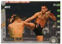 2015 Topps UFC Chronicles Silver Parallel #131 Anthony Pettis