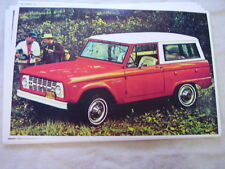 1967 FORD BRONCO   11 X 17  PHOTO  PICTURE