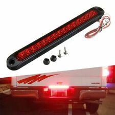 10 inch Sealed 15LED Light High Tail Third Stop Brake Light Strip Red Truck EOA