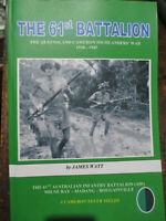 History of Australian 61st Battalion Battle of Milne Bay Bougainville WW2 book