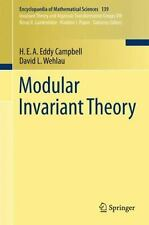 Modular Invariant Theory 139 by David L. Wehlau and H. E. A. Eddy Campbell...