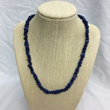 Beautiful Jay King DTR mine find Blue Lapis Sterling necklace