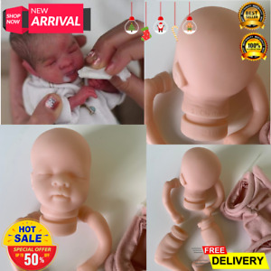 8 inch Reborn Doll Kit Mia Mini Handy Doll Fresh Color Unfinished Doll Parts wit