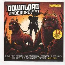 (GL355) Various Artists, Download Underground - Metal Hammar CD
