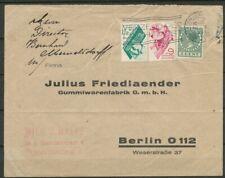 NRS.238/239 EN 5 CT.VETH OP COUVERT AMSTERDAM CS-BERLIN 30.IX.1931,lees!!! ZE683