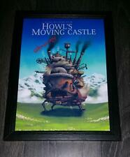 """Howl's Moving Castle PP Signed 12""""x8"""" A4 Photo Poster Howls Hayao Miyazaki N2"""