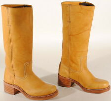 Frye Womens Campus 14L Leather Boots #77050 Size 6 M Banana USA $298  Box #51