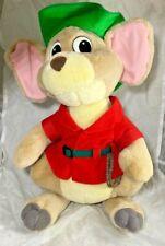 "New listing Vintage Disney Jake Kangaroo Mouse Rescuers Down Under Plush Animal Toy 13"""