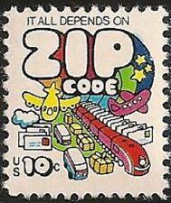 US 1511 ZIP Code 10c single MNH 1974