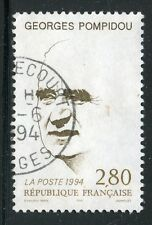 STAMP / TIMBRE FRANCE OBLITERE N° 2875 GEORGES POMPIDOU