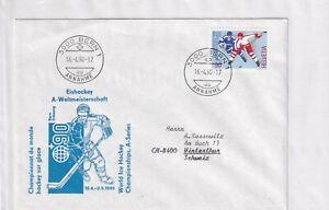 Schweiz 1412 EISHOCKEY WM 1990 SPORT ICE HOCKEY WORL CHAMPIONSHIP HELVETIA