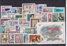 Österreich 1986 kompletter Jahrgang postfrisch