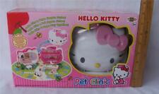 HELLO KITTY PET CLINIC PLAYSET WITH KITTY & PAPA FIGURES NEW TOHO SANRIO