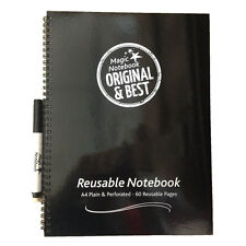 Magic Whiteboard note book Reusable A4 the original and the best