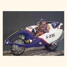 ANDREA MINIATURES 3D FANTASY F-001 - COP RAIDER - 54mm WHITE METAL