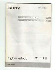 Sony Cyber-Shot DSC-W690 instruction manual (23 pages, 2012)
