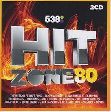 Hitzone 80 various 2 CD Set Sealed incl: Bruno Mars, Kensington 2017