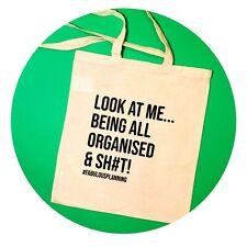TOTE BAG, COTTON, SASSY, QUOTE, GIFT, ECO FRIENDLY, REUSABLE, HAND BAG,💃#SAVAGE