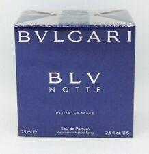 BLV Notte Bvlgari pour Femme eau de Parfum spray 75ml. Bulgari blu