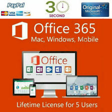 MICROSOFT OFFICE 365 - 2016 PRO PLUS with a Lifetime License ( for 5 devices)