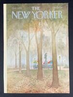 COVER ONLY ~ The New Yorker Magazine, October 3, 1977 ~ Charles E. Martin