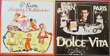 "CD SINGLE - P. LION ""HAPPY CHILDREN"" / RYAN PARIS ""DOLCE VITA"""
