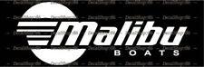 Malibu Boats - Outdoor Sports - Car/SUV/Truck Vinyl Die-Cut Peel N' Stick Decals