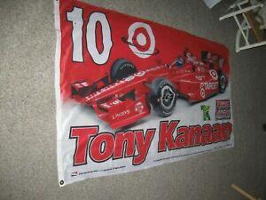 Tony Kanaan #10 Target 3'x5' Flag