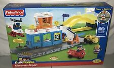 *BRAND NEW* 2011 Fisher Price Little People Discovery Airport Kohls Exclusive