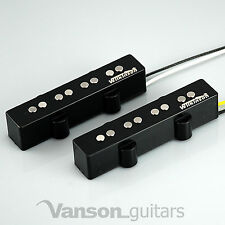 NEW Wilkinson WJB AlNiCo Neck & Bridge Bass Pickups for 'JB' type guitars, Jazz