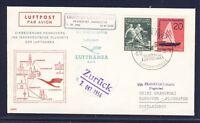 54562) LH FF Frankfurt - Hannover 7.10.56, SoU ab DDR