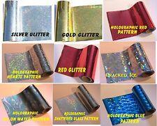More details for toner foil craft cards laser printer heat holographic 20cm x 8m laminator hot.