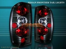 FIT 98-04 FRONTIER ALTEZZA TAIL LIGHTS BLACK 03 02 01 00 99