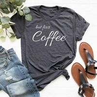 Coffee Lovers T-Shirt Funny Unisex Coffee Tee Gift for Friend S M L XL XXL XXXL