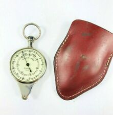 Antique German Cutiecut Compass Nautical Miles Measurer~Maritime Boating w/ Case