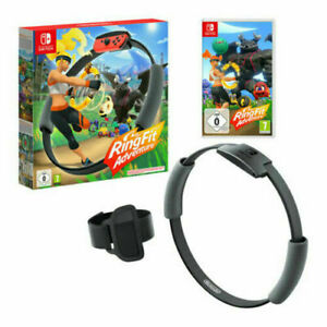 Ring Fit Adventure (Includes Game, Ring-Con and Leg Strap) GAMEXTC