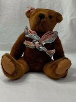 "Vintage 1995 Bialosky Treasury ""Elizabeth"" Jointed Teddy Bear Brown Plush"
