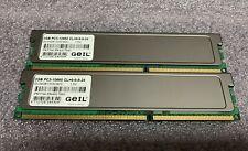 GEIL 4GB Kit (2 x 2GB) PC3-10660U DDR3-1333 Desktop Memory GV34GB1333C9DC