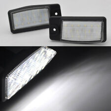 2x Bright White LED License Plate Light For Nissan x-trail Xtrail T32 2014-2018