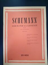 """Schumann """"Album For The Young"""" Op.68 Music Book By Ricordi"""