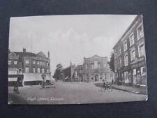 High Street Epsom UK Postcard Shopfronts etc