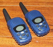 *FOR PARTS* RadioShack (21-1901) (2 Pack) Hand Held Two Way Walkie Talkie Radios