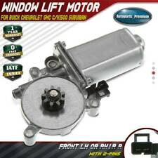 Window Lift Motor with 9-Tooth Gear for Saturn SL 91-95 SC 91-96 SW Front Left