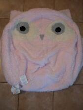 """Pottery Barn Kids Light Pink Winter Owl Beanbag Slipcover 31"""" #12"""