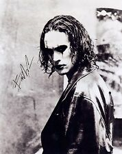 """Brandon Lee (Deceased) """"The Crow"""" EXTREMELY RARE STUDIO PROMO SIGNED RP 8x10!!!"""