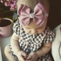 Baby Girls Headband Bow Hairband Sparkly Head Elastic Band Kids Hair Accessories