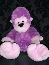 """Ganz Heritage Tubby Tummies Purple Gorilla 8"""" Vintage H7939"""
